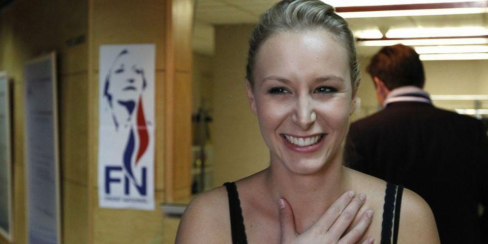 Marion Maréchal - Le Pen se réjouit auprès d'un député UMP de l'affaire Fillon - Jouyet