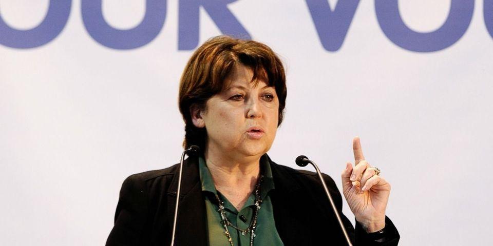 """Martine Aubry estime que les responsables UMP """"se nomment républicains"""" mais """"ne le sont pas"""""""