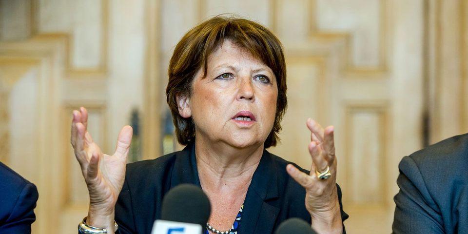 Martine Aubry et ses proches vont se retirer de la direction du PS