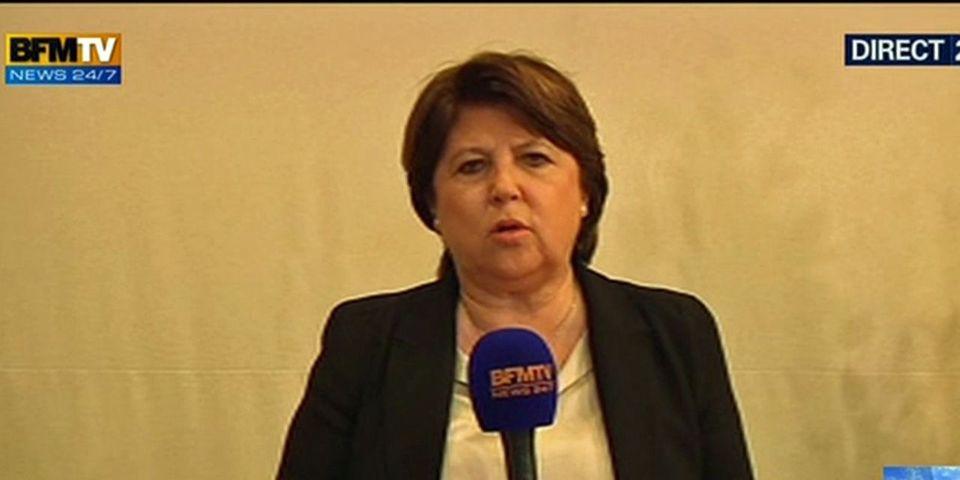 """Mauvais résultats pour la gauche aux municipales, Martine Aubry pointe le gouvernement Ayrault dont """"les résultats tardent à venir"""""""