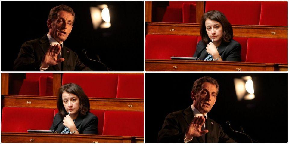 """Meeting de Sarkozy à Nice: Cécile Duflot dénonce la """"mithridatisation"""" des thèses d'extrême droite"""