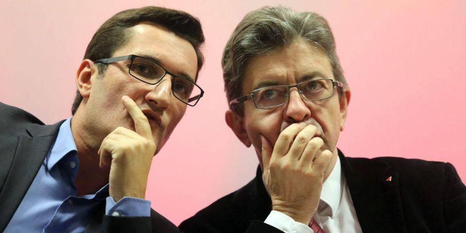 """Mélenchon dégaine un peu trop vite en parlant """"d'un soutien très clair"""" du porte-parole du PCF à Montebourg"""