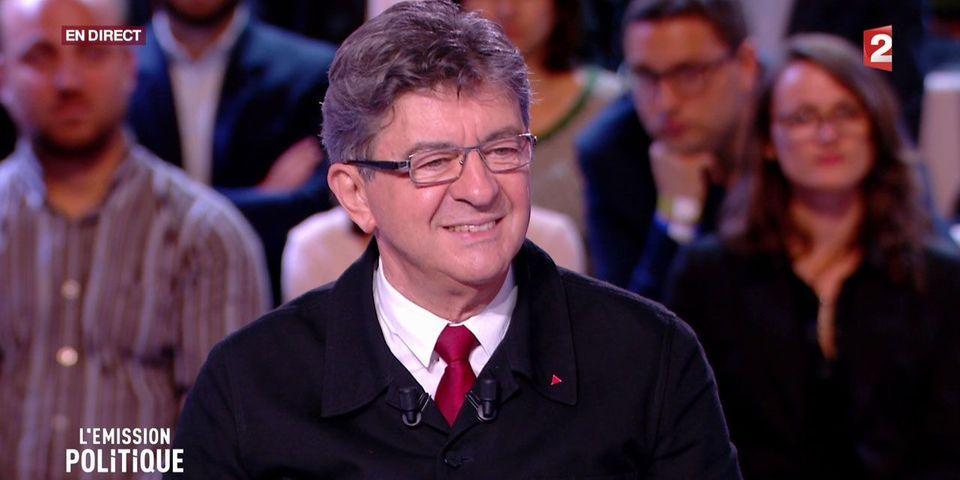 Mélenchon réécrit l'histoire de sa consigne de vote au soir du premier tour de la présidentielle