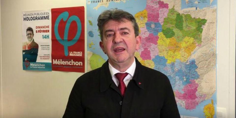 """Mélenchon refuse """"une majorité parlementaire et gouvernementale"""" avec Hamon si Valls, El Khomri et Le Roux sont investis aux législatives"""