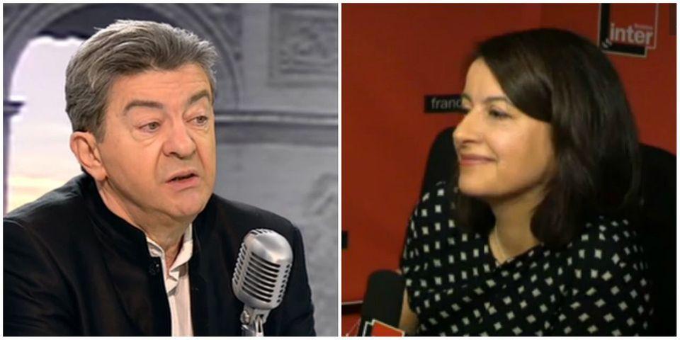 """Mélenchon revendique la """"coalition"""" qu'il veut former avec les écolos, pas Duflot"""