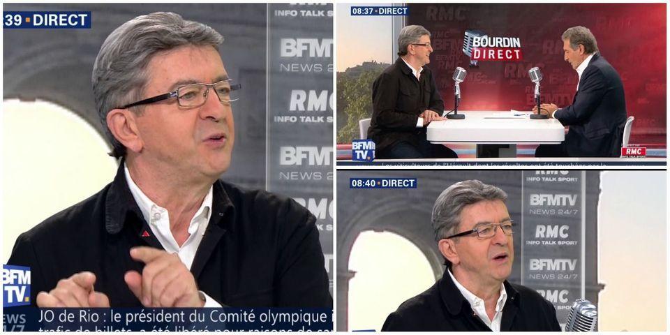 Mélenchon se demande pourquoi la conseillère de Hollande portait un foulard devant le pape