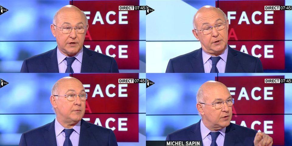 """Michel Sapin dénonce dans la tribune de Nicolas Sarkozy """"un coup d'Etat verbal"""""""