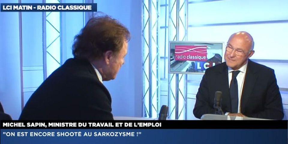 """Michel Sapin estime que la France """"a été massacrée"""" sous Nicolas Sarkozy"""