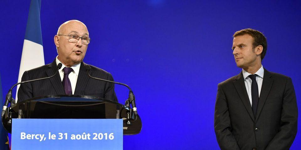 Michel Sapin étrille l'organisation de Bercy, auparavant séparé entre Economie et Finances