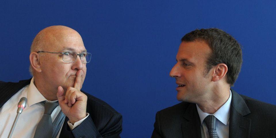 """Michel Sapin surnomme Emmanuel Macron """"le taré du 3e étage"""", selon Le Parisien"""