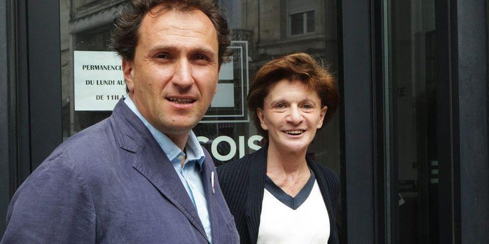 Michèle Delaunay dans l'équipe de campagne de Vincent Feltesse à Bordeaux pour les municipales