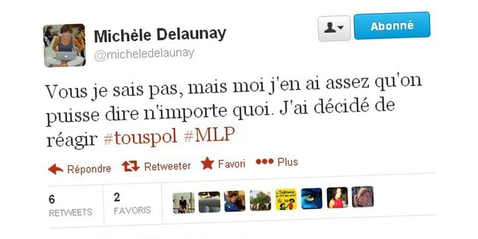 Michèle Delaunay live-tweete une émission de radio et riposte à Marine Le Pen sur Twitter
