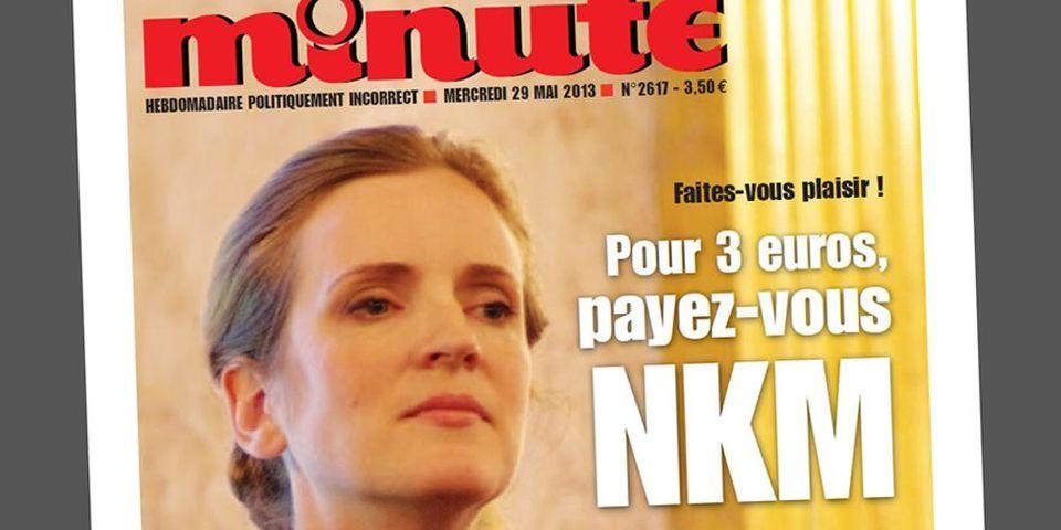 "L'hebdomadaire ""Minute"" lance une campagne anti Nathalie Kosciusko-Morizet"