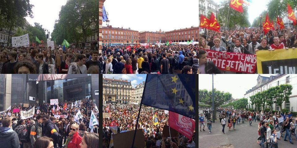 Modeste mobilisation des jeunes contre le FN : les rassemblements ville par ville