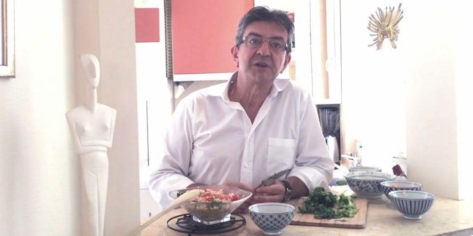 Moins de viande,  plus de quinoa… les messages écolos de Jean-Luc Mélenchon dans Gala