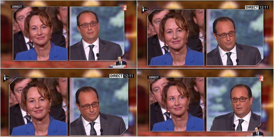 VIDÉO - Moment gênant : en pleine conférence de presse, François Hollande rappelle la défaite de Ségolène Royal en 2007
