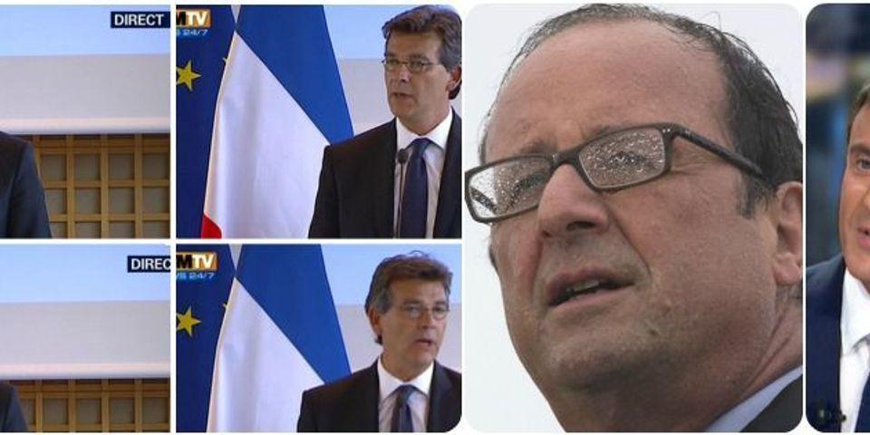 Montebourg estime que Hollande n'aurait pas été élu sans lui, sujet le plus lu de la semaine