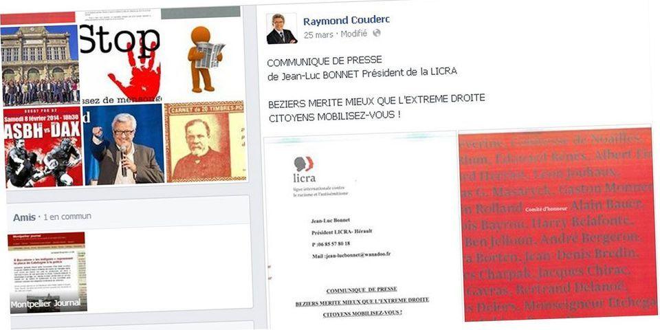Municipales : à Béziers, le PS accuse l'UMP d'utiliser un faux document de la Licra appelant à voter pour Elie Aboud