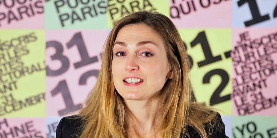 Municipales : Anne Hidalgo met à nouveau en avant Julie Gayet dans un clip de campagne