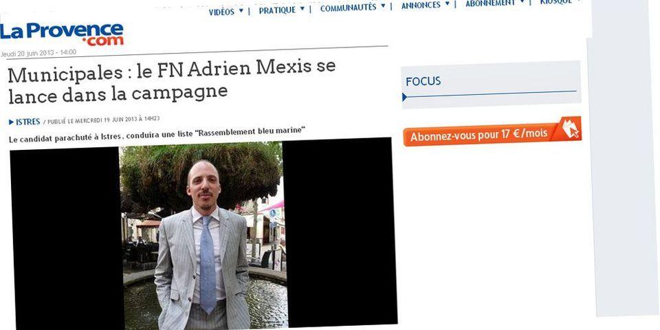 Municipales: le FN parachute un maître de conférences de Sciences Po Paris à Istres