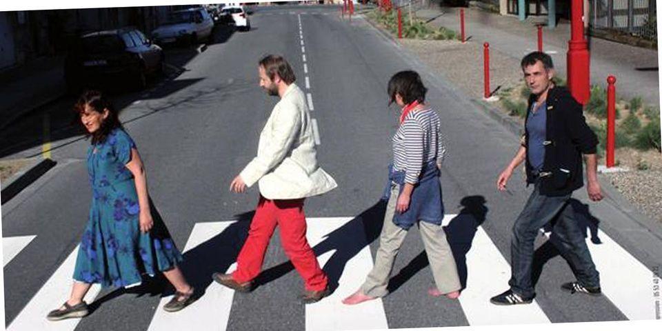 Municipales : Le Front de gauche imite les Beatles sur son affiche à Villeneuve-sur-Lot