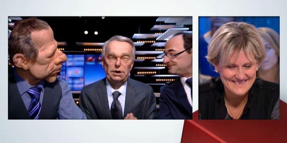 """Nadine Morano et """"les marionnettes des guignols à la con"""""""