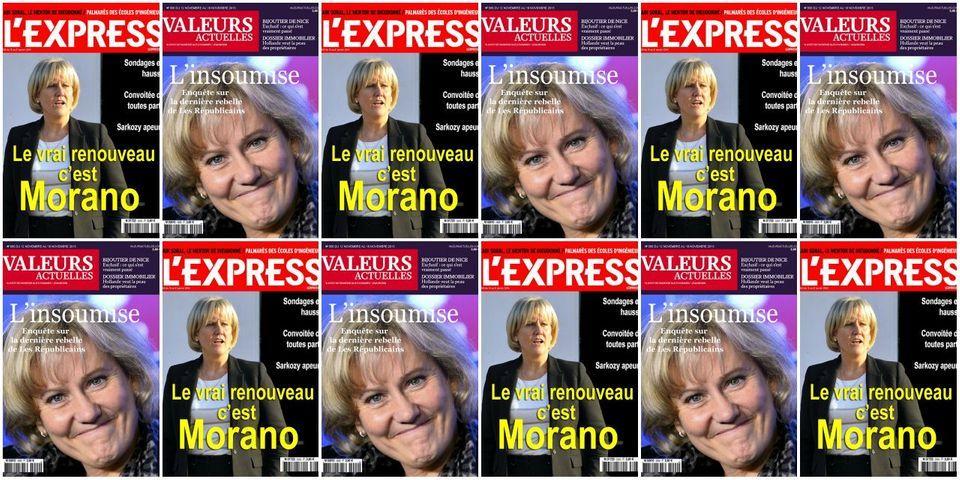 Nadine Morano explique à quel point elle aimerait faire la une de Valeurs Actuelles ou de L'Express