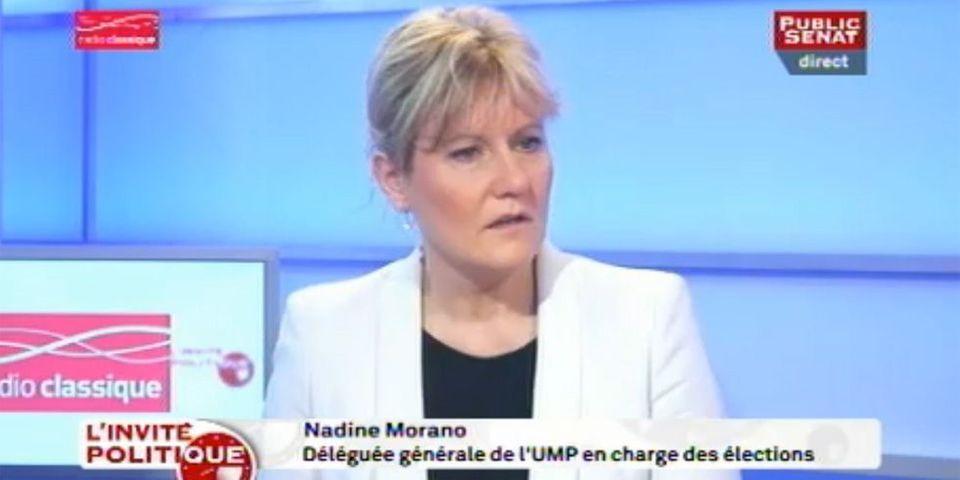 """Nadine Morano sur l'affaire Crédit Lyonnais: l'Elysée fait tout pour """"écarter Nicolas Sarkozy d'une possibilité de revenir"""""""