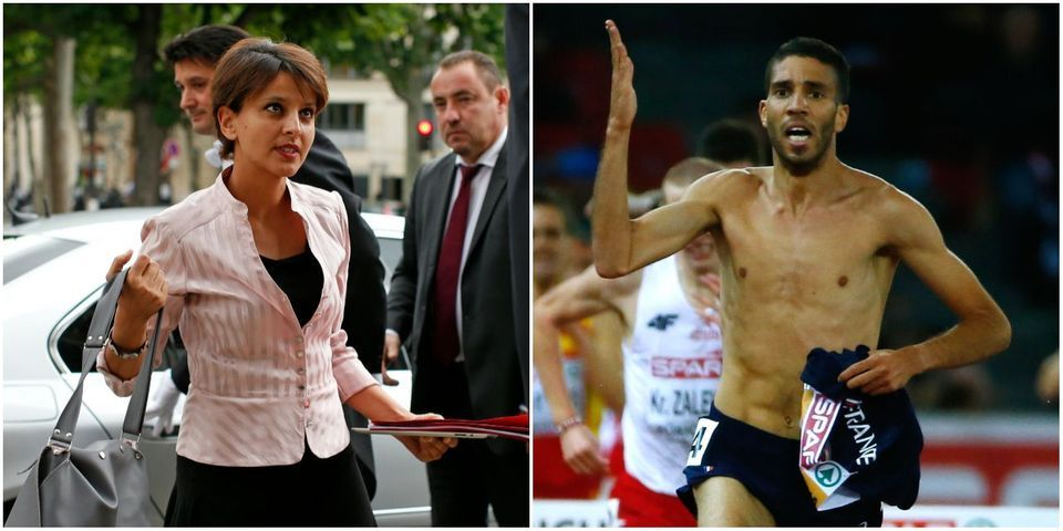 """Najat Vallaud-Belkacem à propos de la disqualification de Mekhissi : """"Les bras m'en sont tombés"""""""