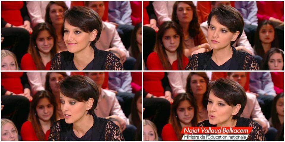 """Najat Vallaud-Belkacem cite Audiard pour s'attaquer """"aux amis de Marine Le Pen"""" : """"ça ose tout, c'est à ça qu'on les reconnaît"""""""