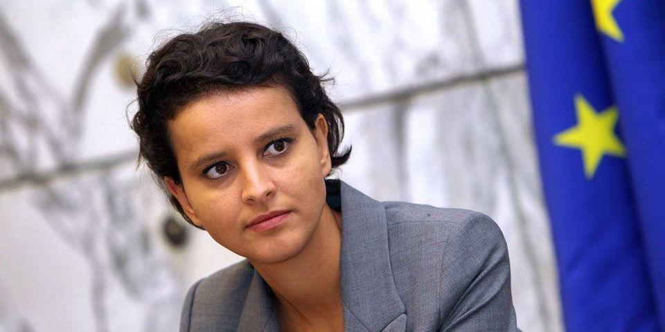 """Najat Vallaud Belkacem critique la """"une"""" de L'Express sur les """"femmes"""" de Hollande"""