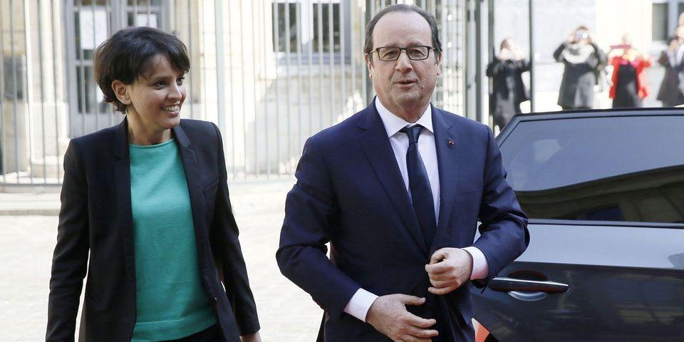 """Najat Vallaud-Belkacem demande aux socialistes de """"faire comme si François Hollande était candidat"""" pour préparer 2017"""