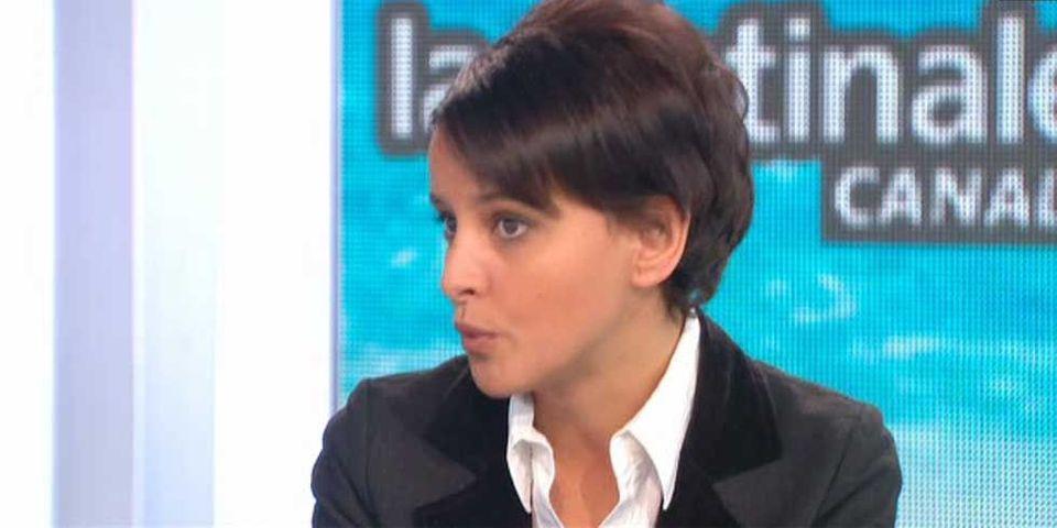"Najat Vallaud-Belkacem moque les ""fautes d'orthographe"" de Nadine Morano dans ses tweets"