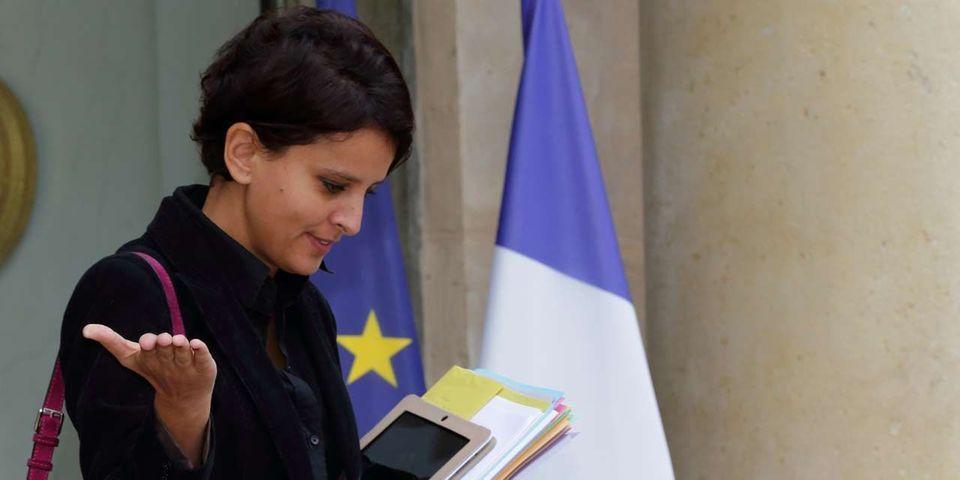 Najat Vallaud-Belkacem prête à être candidate à la tête du PS si le poste est rémunéré (et qu'elle est tête de liste aux européennes)