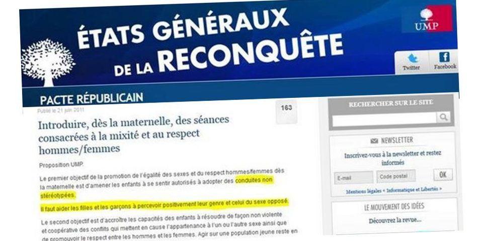 """Najat Vallaud-Belkacem s'amuse d'un document de l'UMP sur la """"perception du genre"""" par les écoliers"""
