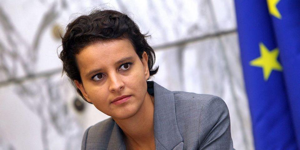 Najat Vallaud-Belkacem voit d'un bon œil l'initiative des députés PS pour reconnaître l'Etat de Palestine