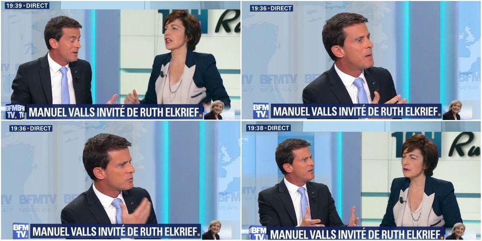 """""""Ni Marine, ni Macron"""" : Manuel Valls accuse les lycéens qui manifestent de """"raconter n'importe quoi"""""""