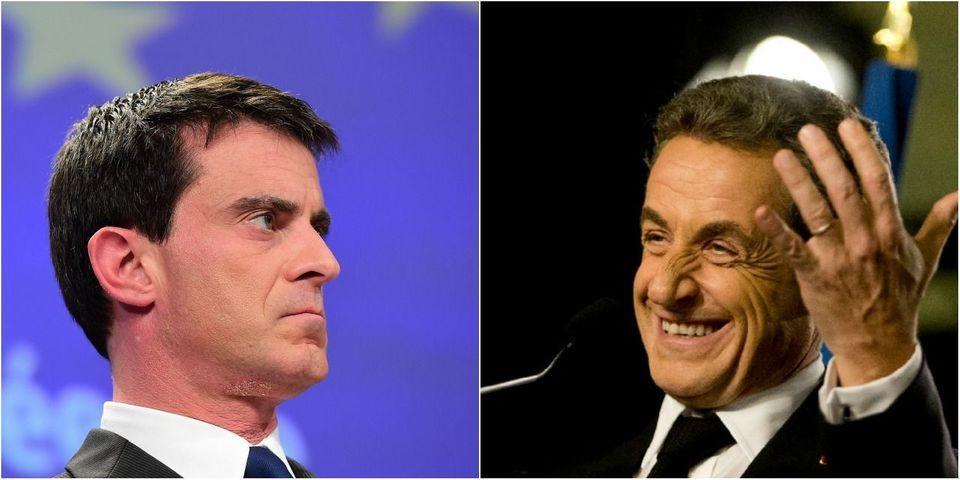 """""""Ni-ni"""" : Manuel Valls dénonce """"une faute morale et politique"""" de Nicolas Sarkozy"""
