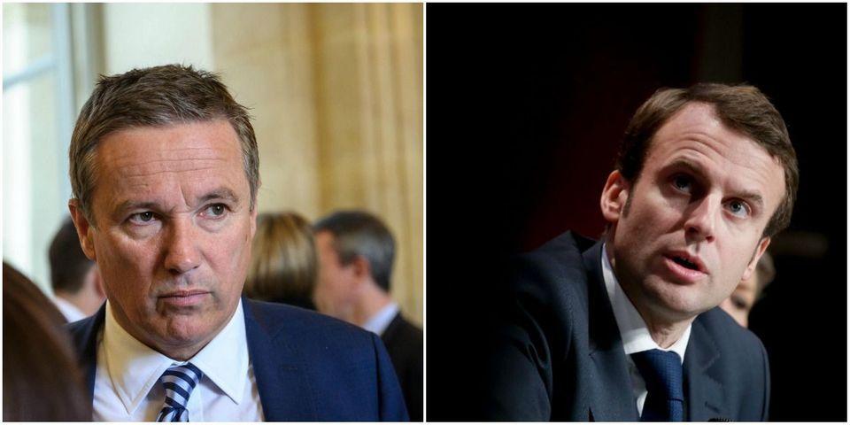 Aéroport de Toulouse : Nicolas Dupont-Aignan appelle à la démission d'Emmanuel Macron (si Mediapart a raison)