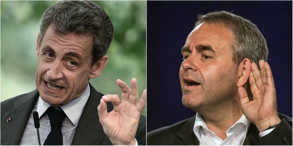 """Nicolas Sarkozy conseille à Xavier Bertrand d'être plus """"dans le système"""""""