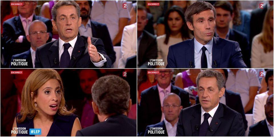 """Nicolas Sarkozy dénonce """"l'arrogance"""" de L'émission politique de France 2 (et se réjouit de sa prestation)"""