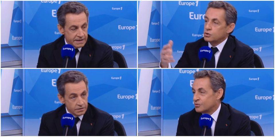 """Nicolas Sarkozy dénonce le """"silence assourdissant"""" de Christiane Taubira et s'interroge sur sa place au gouvernement."""