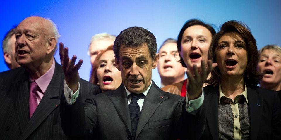 """Nicolas Sarkozy devant les nouveaux adhérents UMP : """"vous avez adoré Fillon-Copé, je ne vous offrirai pas Juppé-Sarkozy"""""""