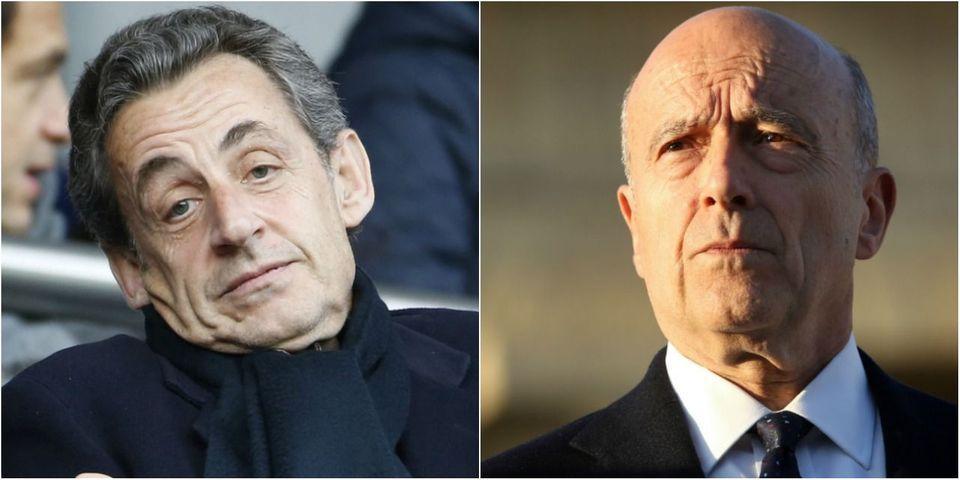 """Nicolas Sarkozy condamne la réaction """"pas raisonnable"""" d'Alain Juppé après l'attentat de Nice"""