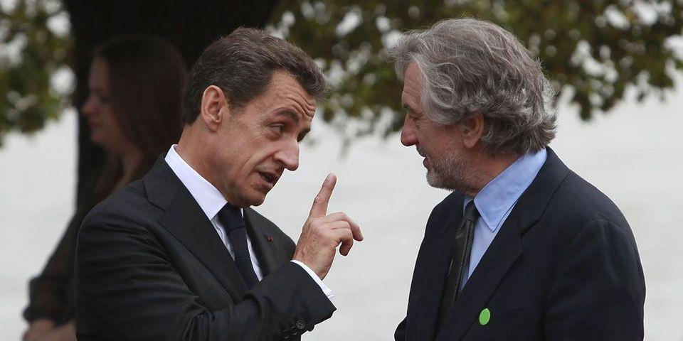 Le dîner people de Nicolas Sarkozy avec De Niro