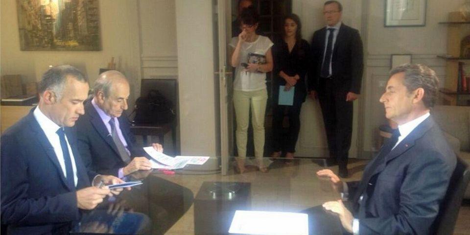 """Nicolas Sarkozy pointe une """"instrumentalisation politique d'une partie de la Justice"""""""