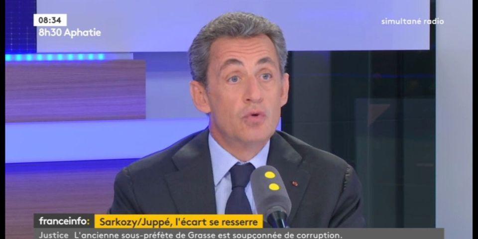 """Nicolas Sarkozy qualifie de """"forfaiture"""" la violation du secret défense par François Hollande"""