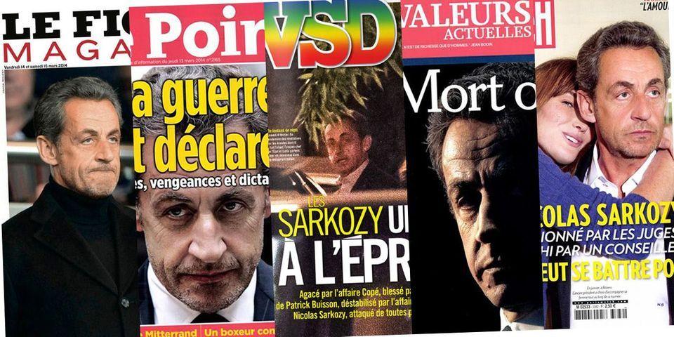 Nicolas Sarkozy revient en une des hebdos