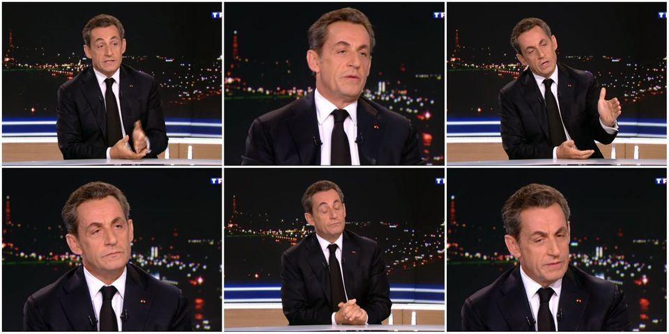 Nicolas Sarkozy se félicite de son score à la présidence de l'UMP en moquant les 100% de Marine Le Pen