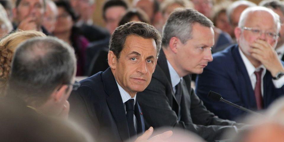 """Nicolas Sarkozy trouve que Bruno Le Maire est """"un donneur de leçons"""""""
